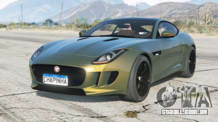 Jaguar F-Type R cupê 2015〡add-on para GTA 5