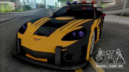 Chevrolet Corvette C6 (Cross from NFS MW Intro) para GTA San Andreas