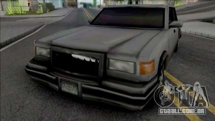 Unmarked Beta Sedan Vehicle para GTA San Andreas