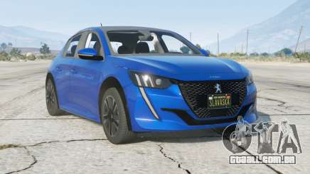 Peugeot 208 GT Line 2019〡add-on para GTA 5