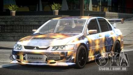 Mitsubishi Lancer Evolution VIII GST-R S2 para GTA 4