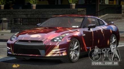 Nissan GT-R U-Style L8 para GTA 4
