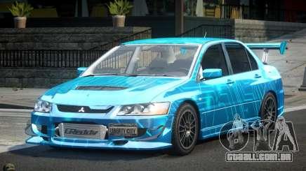 Mitsubishi Lancer Evolution VIII GST-R S6 para GTA 4