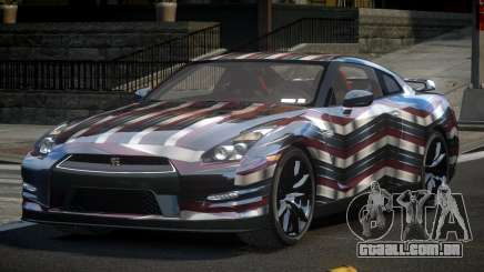 Nissan GT-R U-Style L5 para GTA 4