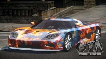 Koenigsegg CCX GST-R S8 para GTA 4