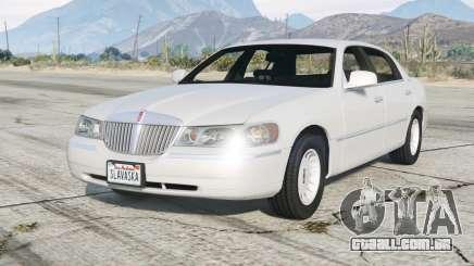 Lincoln Town Car Signature L 2000〡add-on v2.0 para GTA 5