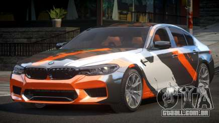 BMW M5 Competition xDrive AT S9 para GTA 4