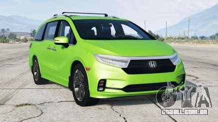 Honda Odyssey Elite 2021〡add-on para GTA 5
