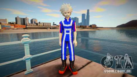 MHA Katsuki Bakugo (Gym Outfit) para GTA San Andreas