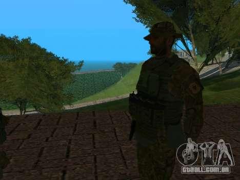 Oficial da FSB CSN SSO (Versão Panamka) para GTA San Andreas