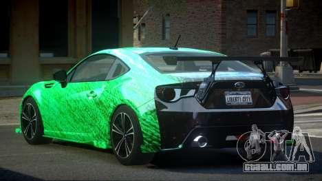 Subaru BRZ SP-U S4 para GTA 4