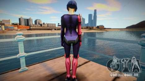 Katana from DC Legends para GTA San Andreas