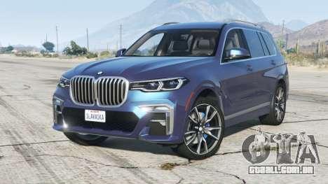 BMW X7 xDrive50i M Sport (G07) 2020〡add-on v1.1