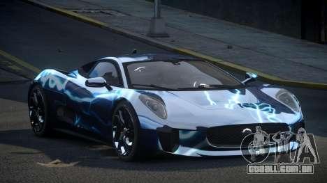 Jaguar C-X75 SP-U S4 para GTA 4