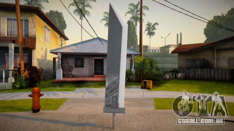 Final Fantasy - Katana para GTA San Andreas