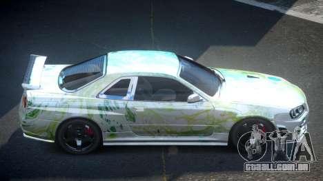 Nissan Skyline R34 PSI-U S1 para GTA 4