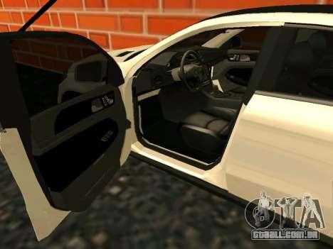 Mercedes-Benz GLE 63 AMG RUS Plates para GTA San Andreas