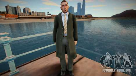 Americano em Coat 2 para GTA San Andreas