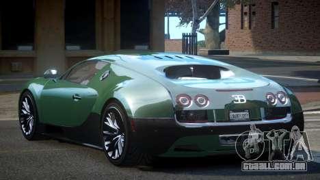 Bugatti Veyron PSI-R para GTA 4
