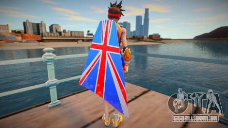 Tracer Sprint From Overwatch para GTA San Andreas