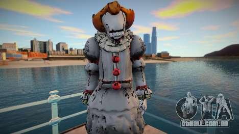 Pennywise skin para GTA San Andreas
