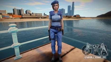 Jill Valentine (good skin) para GTA San Andreas
