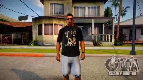Hip-Hop Legends T-Shirt para GTA San Andreas