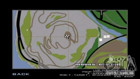 A saliência (nova textura) para GTA San Andreas