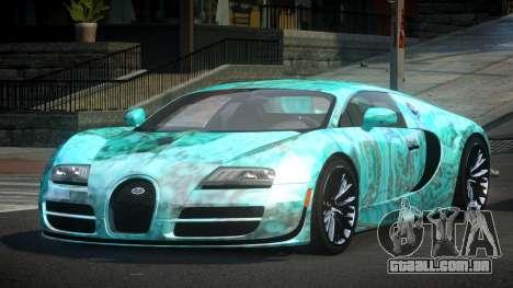 Bugatti Veyron PSI-R S3 para GTA 4