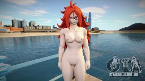 Android 21 Nude para GTA San Andreas