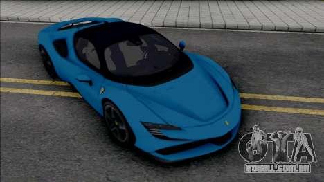 Ferrari SF90 Stradale 04Works para GTA San Andreas