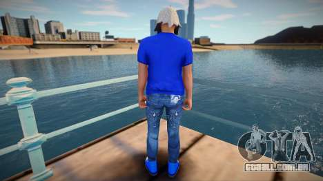 Guy 44 from GTA Online para GTA San Andreas