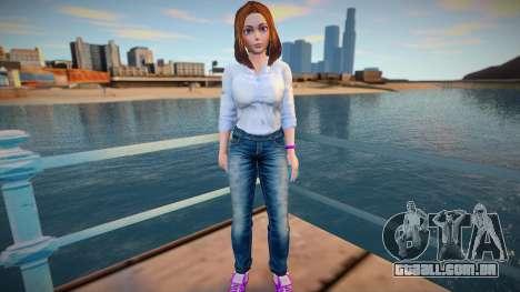 Sam Samsung Casual (Jeans) para GTA San Andreas