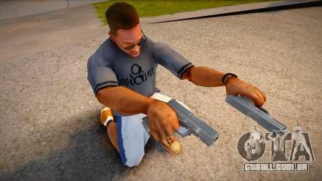 RE2: Remake - Glock 19 para GTA San Andreas