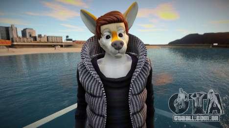 Furry Skin Sims4 para GTA San Andreas