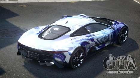 Jaguar C-X75 SP-U S8 para GTA 4