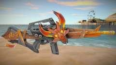 M4A1 Flama Free Fire para GTA San Andreas