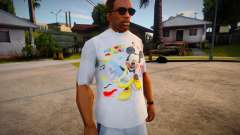 New T-Shirt - tshirtlocgrey para GTA San Andreas