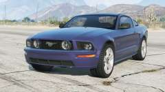 Ford Mustang GT 2005〡〡grey rims〡add-on para GTA 5