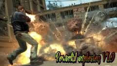 Powerful explosion V1.0 para GTA 4