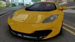 McLaren MP4-12C [Fixed] para GTA San Andreas