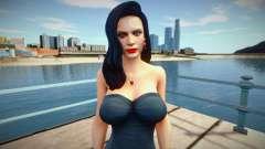 Excella (Seductive Dress) from Resident Evil 5 para GTA San Andreas