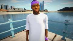 New Ballas1 skin para GTA San Andreas