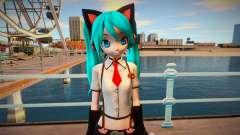 PDFT Hatsune Miku Kitty Cat para GTA San Andreas