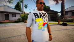 New T-Shirt - tshirt2horiz para GTA San Andreas