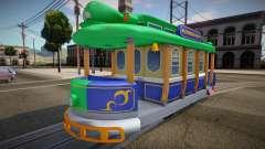 Mario Kart 8 Tram L para GTA San Andreas