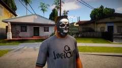 Máscara com crânio para GTA San Andreas