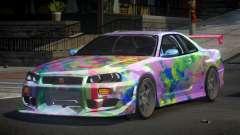 Nissan Skyline R34 PSI-S S10 para GTA 4