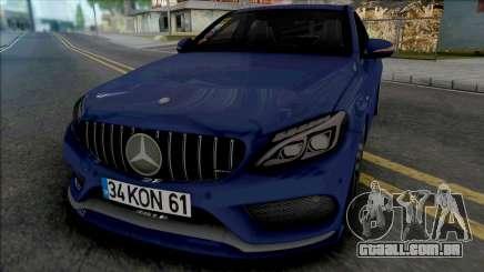 Mercedes-Benz C200 W205 AMG para GTA San Andreas