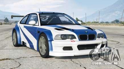 BMW M3 GTR (E46) Most Wanted para GTA 5